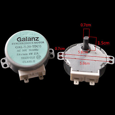 £5.68 • Buy Turntable Synchronous Motor GAL-5-30-TD 30V 4W Fit For GALANZ Microwave Part