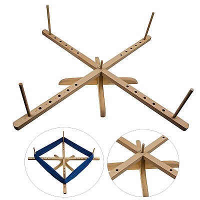 Tabletop Amish Style Wooden Yarn Swift Winder • 29.61£