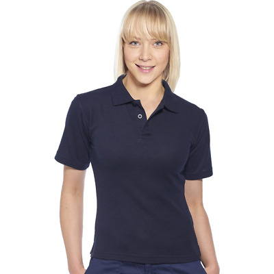 NEW RRP £7.99 Ex Marks And Spencer Navy Pure Cotton Solid Collar Neck Polo Shirt • 4.99£