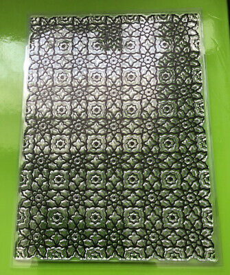"""Large Clear Flower Stamp Brand New Approximately 7""""X9"""" • 1.70£"""