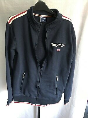 Triumph Motorcycles Softshell Jacket Size S W359 • 5£