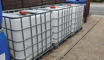 £75 • Buy IBC TANK 1000 Litre Storage Container Water Alcohol Shampoo Diesel 1000l Tonne