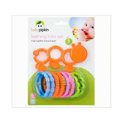 9 Piece Baby Learning Links Set • 3.79£