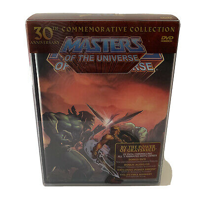 $250 • Buy He-man Masters Of The Universe 30th Anniversary Commemorative Collection DVD OOP