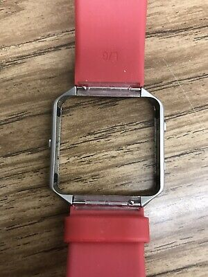 $ CDN3.93 • Buy R40 - Fitbit Blaze - Red Band Size L/G & 2 Chargers