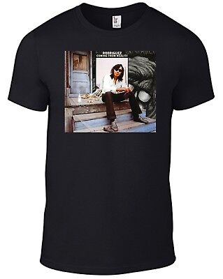 Rodriguez T-shirt Coming From Reality Sixto Searching For Sugar Man Cold Fact B • 11.95£