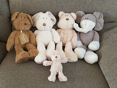Mamas And Papas Once Upon A Time Baby Soft Toy X5 Pip Crumble Peanut Pumpkin M&P • 45£