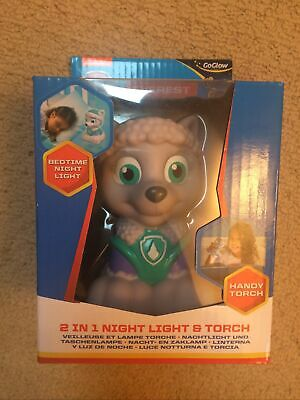 Paw Patrol Everest GoGlow 2 In 1 Bedtime Night Light And Handy Torch BNIB • 6£