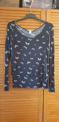 H&M Mama Butterfly Breastfeeding Top • 2.50£