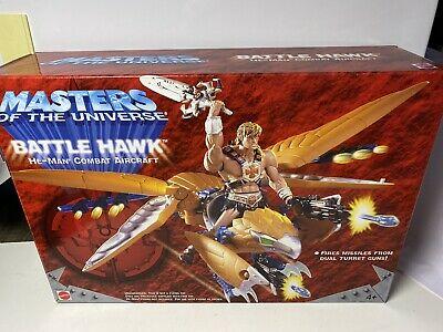 $39.99 • Buy MOTU, Battle Hawk, 200x, Masters Of The Universe, MISB, He-Man, Sealed Box