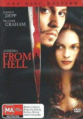 AU6.68 • Buy FROM HELL New Dvd JOHNNY DEPP ***