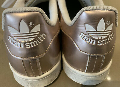 AU40 • Buy ADIDAS STAN SMITH Sneakers. Size 11. Rose Gold. EUC