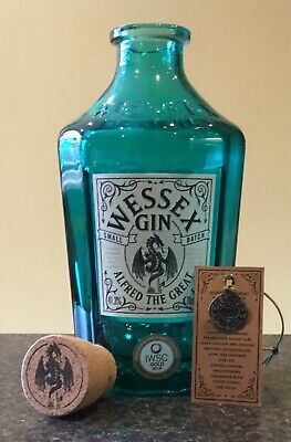 Wessex Gin (Alfred The Great) - Turquoise Bottle • 6.50£