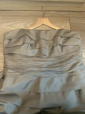 Monsoon Stunning Evening/bridesmaid Dress Mink NEW WITH TAGS RRP £160 • 11£