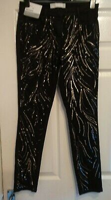Next Sequin Jeans Brand New Size 12 R. • 12£