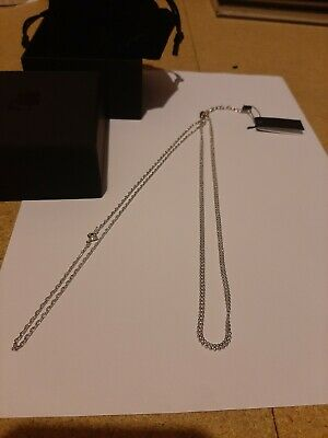 Karl Lagerfeld Jewellery Necklace Silver BNIB BNWT New • 20£