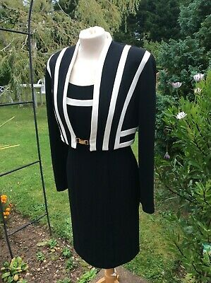 Joseph Ribkoff Designer NEW Dress And Matching Jacket 10 Stunning! • 34.99£