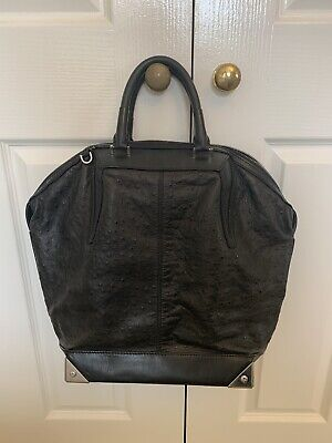 AU300 • Buy Alexander Wang Large Emile Bag Rare Ostrich Leather