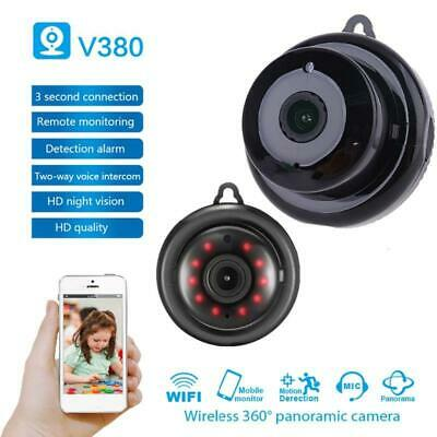 AU19.56 • Buy V380 Wifi 1080P Camera Wireless CCTV Infrared Night Vision Motion Detectection
