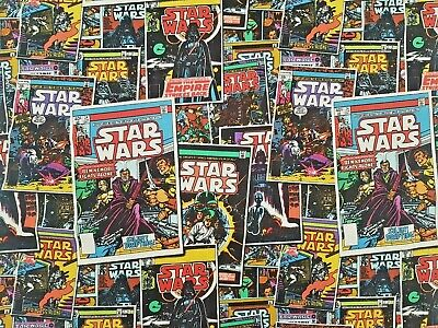 £6.50 • Buy Star Wars Comic Book -  100% Craft Cotton Print Fabric - Camelot