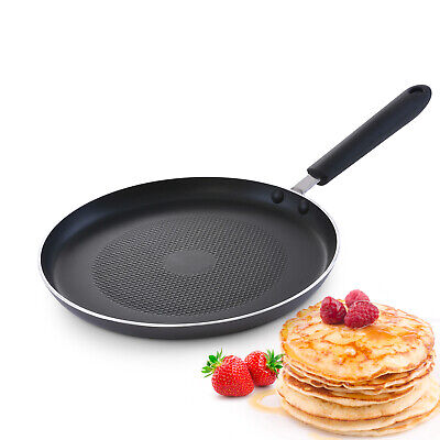 Royalford Pancake Frying Pan Induction Crepe Flatbreads Chapati Non-Stick Tawa • 13.99£
