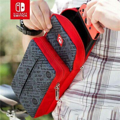 AU23.70 • Buy Mario Carrying Case Fit Nintendo Switch Console Accessories Shoulder Storage Bag