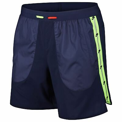 Nike Wild Run 7inch Shorts Mens Blue/Silver Running Track Active Fitness Bottoms • 58.99£