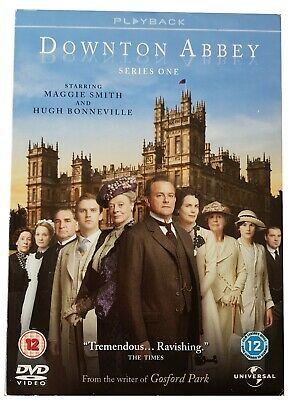DOWNTOWN ABBEY SERIES 1 - COMPLETE SERIES ON DVD, 2010, 3-Disc Set • 0.99£