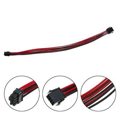 AU6.60 • Buy Sleeved Graphics Card PCI-E GPU 8 Pin To 6+2 Pin PCI-E Power Extension Cable DIY