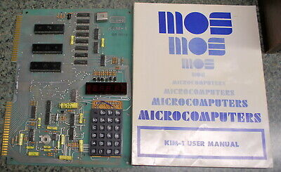 Rare Museum Item Commodore MOS KIM-1 With User Manual (ships Worldwide) • 999.30£