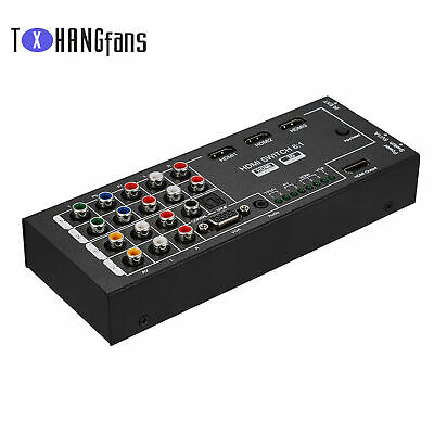 HDMI Audio Extractor With 8 Inputs To 1 HDMI Output 3D Surround Sound ATF • 13.36£
