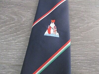 £9.99 • Buy Unidentified Mountain Island With Royal Navy And Russian Flag Tie By Maccravats