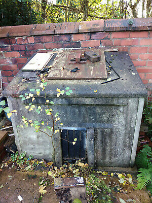 Used CONCRETE COAL BUNKER / WOOD STORE • 0.99£