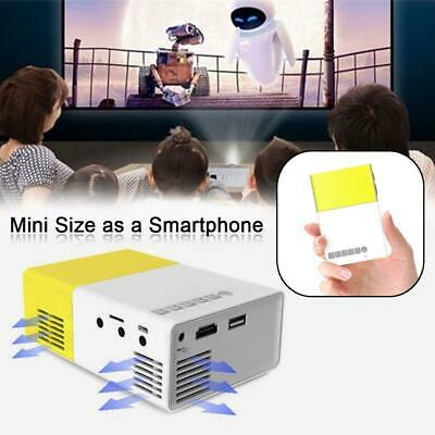 AU65.93 • Buy Portable Mini Projector YG300 3D LED Home Theater Cinema 1080P AV USB HDMI AU AR