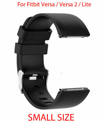 $ CDN7.41 • Buy Strap For Fitbit Versa, Versa 2, Versa Lite Replacement Band Buckle Black SMALL