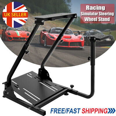 Racing Simulator Steering Wheel Gaming Stand GT Model For G29 G920 T300RS UK NEW • 42.78£
