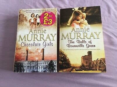 Annie Murray - Chocolate Girls & Bells Of Bournville Green - Paperbacks • 5£