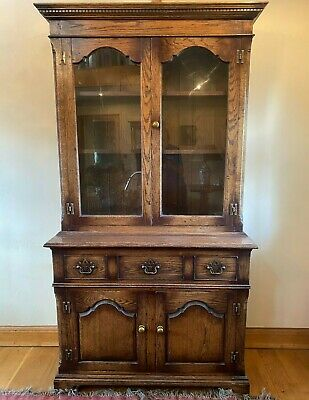 £390 • Buy Wooden Glass Fronted Bookcase