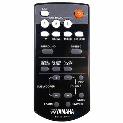 AU66 • Buy Genuine Yamaha YAS-306 Soundbar Remote Control