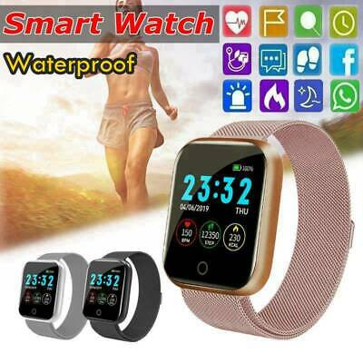 AU32.99 • Buy Waterproof Smart Watch Heart Rate Fitness Tracker Bracelet For IPhone/Android