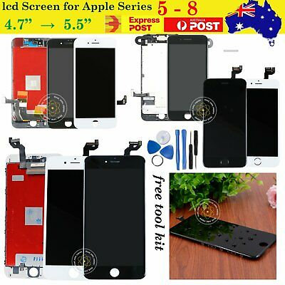 AU11.99 • Buy For IPhone8 7 6 6s Plus 5s SE 5 Assembly LCD Touch Screen Replacement Digitizer