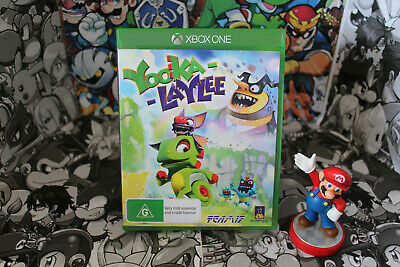 AU18 • Buy Yooka-Laylee (Microsoft XBOX One PAL) *Pre-Owned*