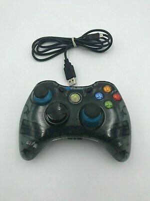 AU35.91 • Buy Xbox 360 & PC Windows USB Wired @Play Gaming Controller - Clear - Free Postage