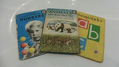 Ladybird Books Numbers-a.b.c And Animals. • 4£