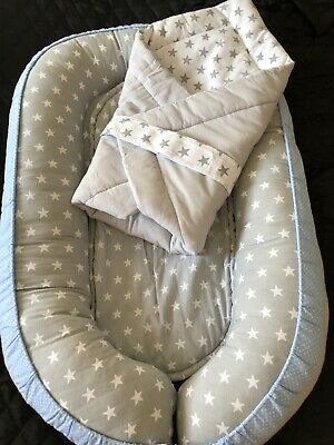 Newborn Baby Cocoon ( Nest Pod ) And Baby Horn • 26.99£