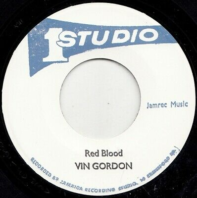 Vin Gordon  Red Blood  Dub Specialist  Bionic Dub  Studio One  Rarities!!   • 11.50£