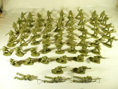 Airfix 1/32  64 British Paratroopers Plastic Soldiers Unpainted Good Condition • 9.99£