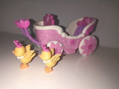 Hasbro - My Little Pony - Cute Curtsey Carriage And Two Yellow Birds - No... • 4£