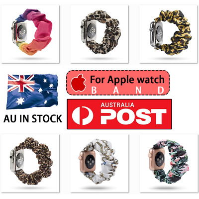 AU13.99 • Buy For Apple Watch Band Series SE 6 5 4 3 Scrunchie Elastic Watch Straps Watchband