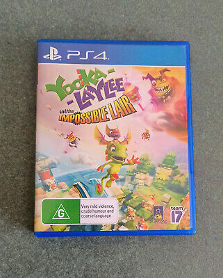 AU20 • Buy Yooka-Laylee And The Impossible Lair - Used In Good Condition - PS4
